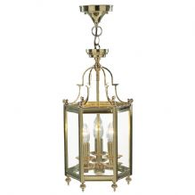 Polished Brass Lanterns